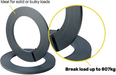 Black Steel Strapping
